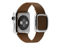 Apple 38mm Modern Buckle - S - bracelet de montre - brun - pour Watch (38 mm) MJ542ZM/A