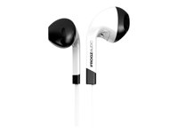 ifrogz Audio InTone - Casque - intra-auriculaire - filaire - isolation acoustique - blanc IF-ITN-WHT